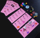 Pink Word Lists with Objects - M&M Montessori Materials  - 3