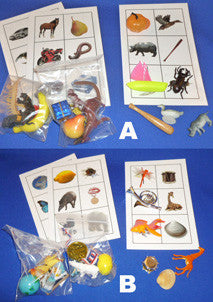 Complete Set Picture Object Matching - M&M Montessori Materials