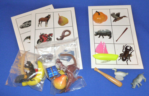 Picture Object Matching Set A - M&M Montessori Materials