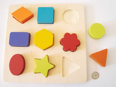Shape Sorter - M&M Montessori Materials