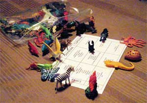 Global Mania Creature Pack Add On Set - M&M Montessori Materials