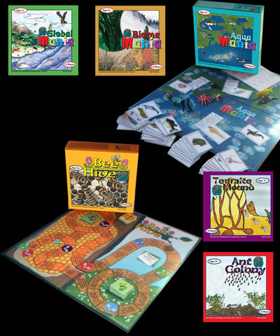 Complete Set Science Games - M&M Montessori Materials