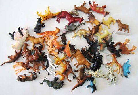 Animal Pack of 50 Objects - M&M Montessori Materials