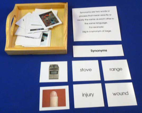 Synonyms - M&M Montessori Materials