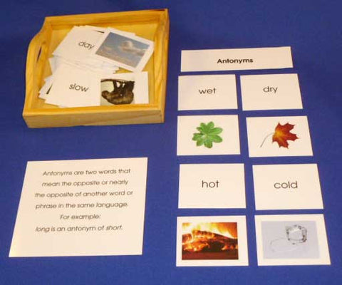 Antonyms - M&M Montessori Materials