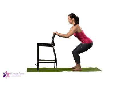 Kegel Squat With Chair