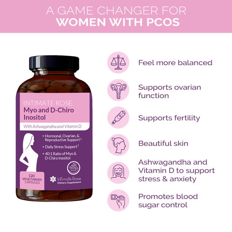 Intimate Rose PCOS Inositol Supplement