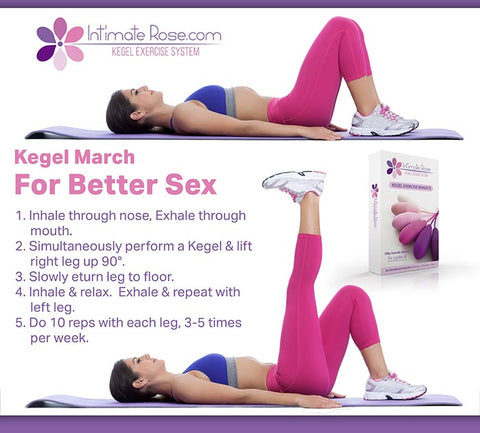 How to do kegel exercise with March
