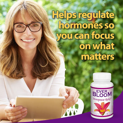 Ever Bloom Menopause Hot Flash Relief