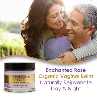 3 Pack - Enchanted Rose Organic Vaginal Balm