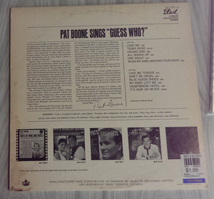 Pat Boone - Sings Guess Who