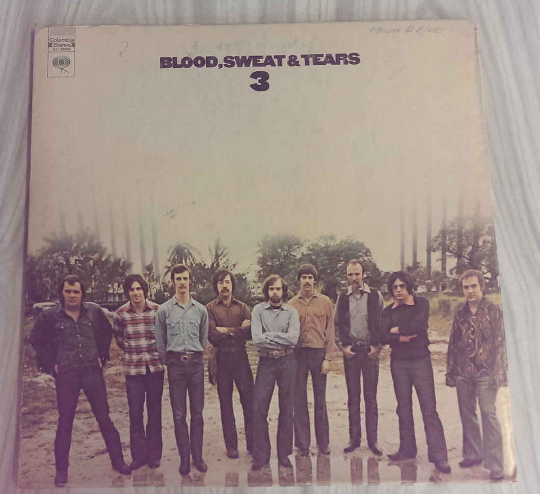 Blood, Sweat and Tears - Blood, Sweat and Tears 3