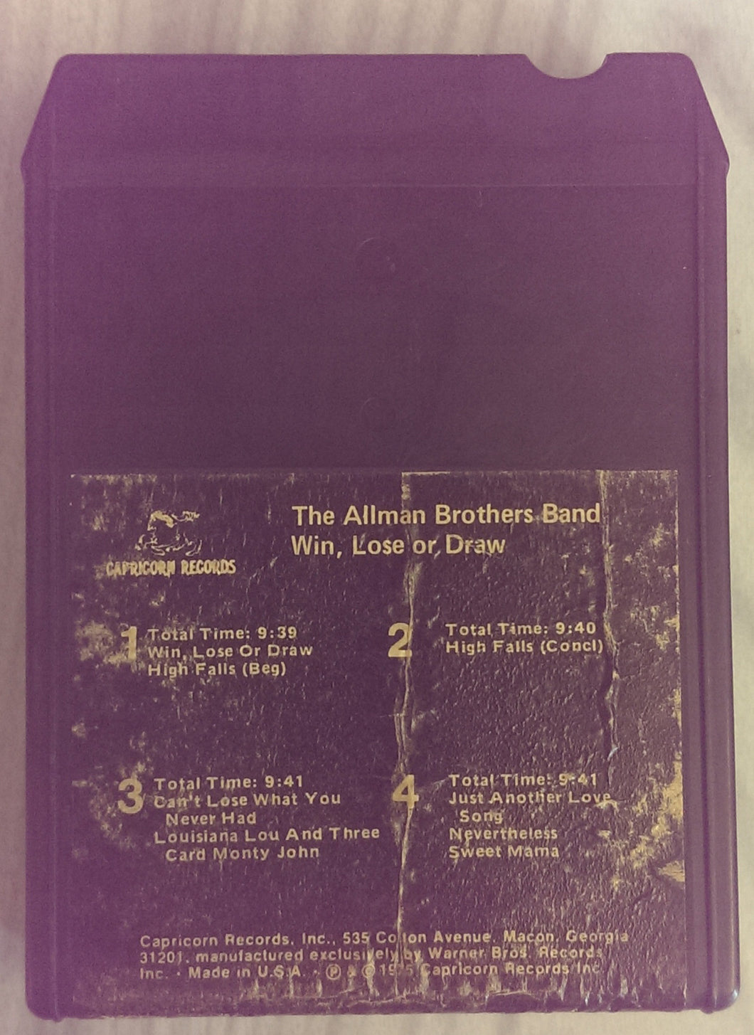 The Allman Brothers Band - Win, Lose or Draw
