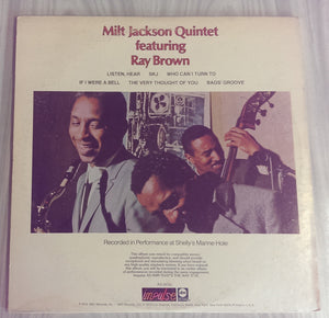 Milt Jackson Quintet - Just the Way It Had to Be