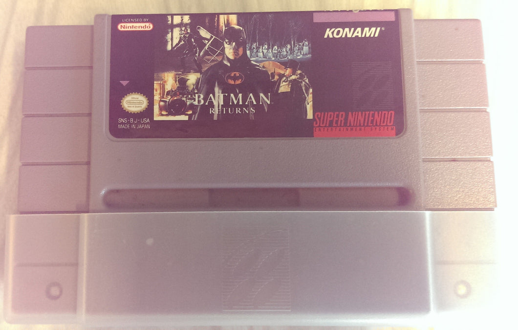 Batman Returns - Super Nintendo Entertainment System