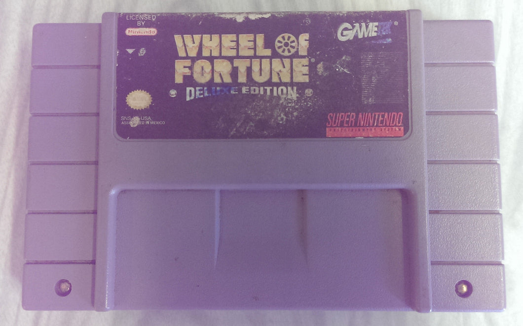 Wheel of Fortune -  Super Nintendo Entertainment System