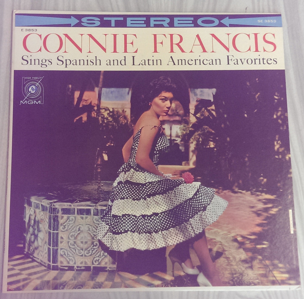 Connie Francis - Connie Francis Sings Spanish and Latin American Favorites
