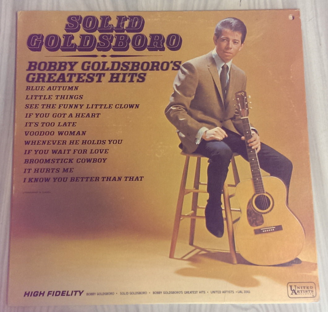 Bobby Goldsboro - Solid Goldsboro (Bobby Goldsboro Greatest Hits)