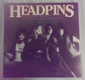 Headpins - Line Of Fire