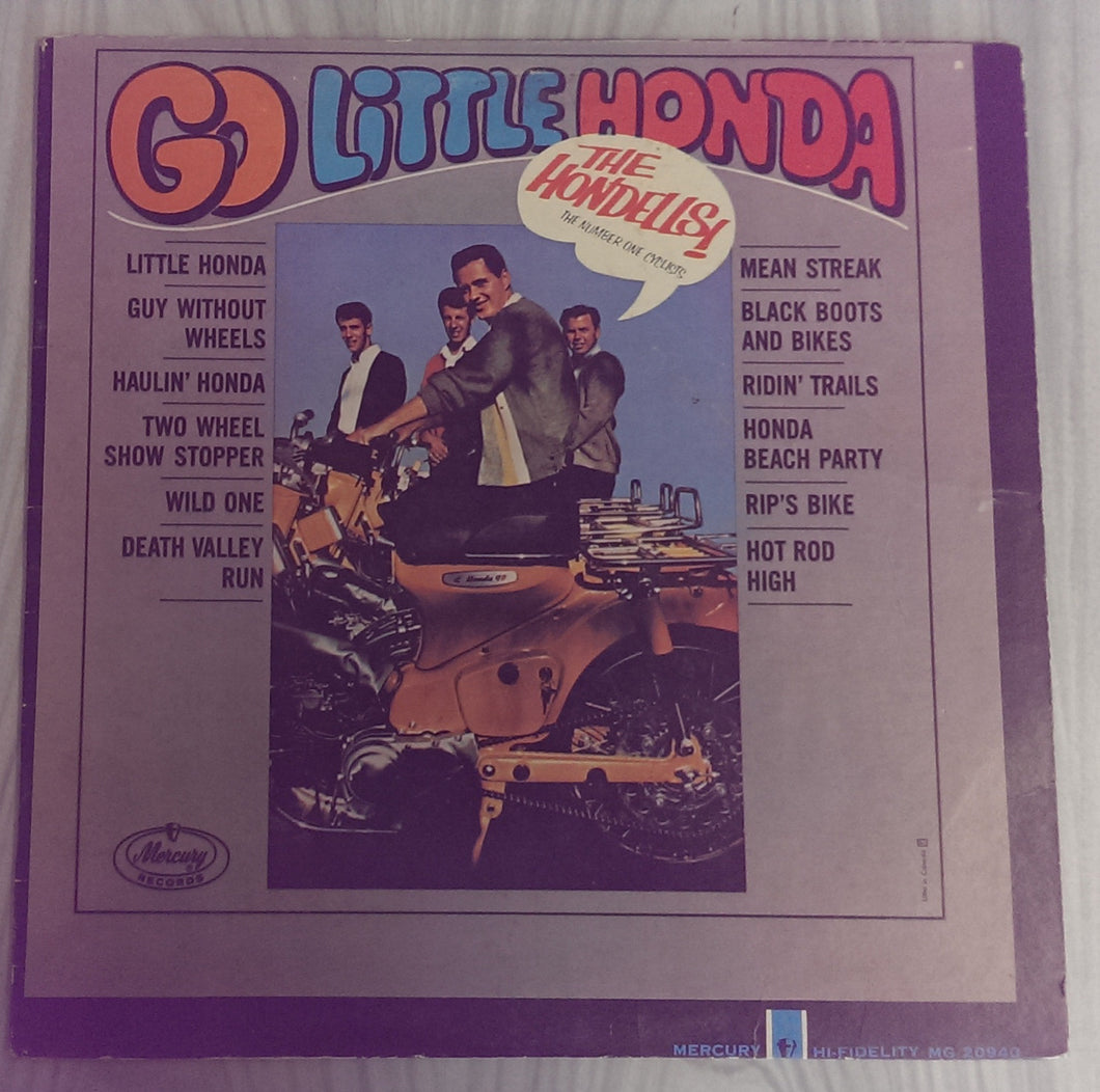 The Hondells - Go Little Honda