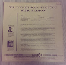 Rick Nelson - The Very Thought of You