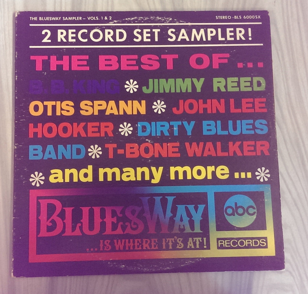 Various Artists - The Bluesway Sampler Volume 1 And 2