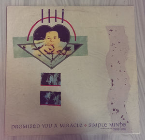 "Simple Minds - Promised You A Miracle - 12"" single"