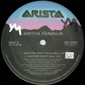 Aretha Franklin ‎– Another Night (sealed 1986)