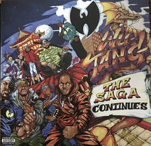 Wu-Tang* ‎– The Saga Continues (NEW PRESSING)