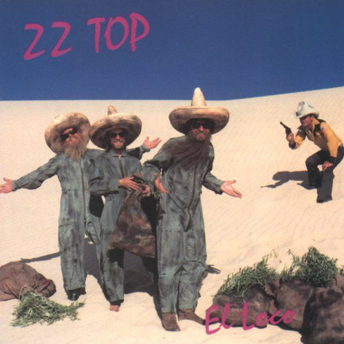 ZZ Top ‎– El Loco (NEW PRESSING) (HOT PINK VINYL)