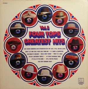 Four Tops ‎– Four Tops Greatest Hits Vol. 2