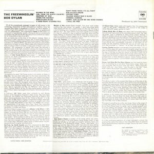 Bob Dylan ‎– The Freewheelin' Bob Dylan (NEW PRESSING)
