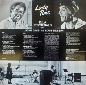 Ella Fitzgerald With Jackie Davis And Louie Bellson* ‎– Lady Time