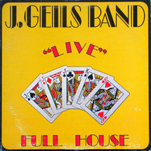 "The J. Geils Band - ""Live"" Full House"
