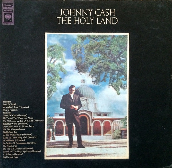 Johnny Cash ‎– The Holy Land