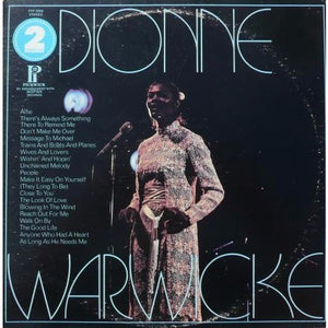 Dionne Warwicke* ‎– Alfie / Make It Easy On Yourself