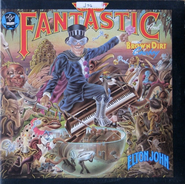 Elton John ‎– Captain Fantastic And The Brown Dirt Cowboy