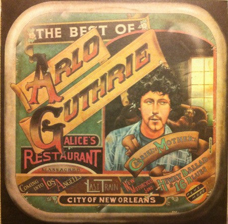 Arlo Guthrie ‎– The Best Of Arlo Guthrie