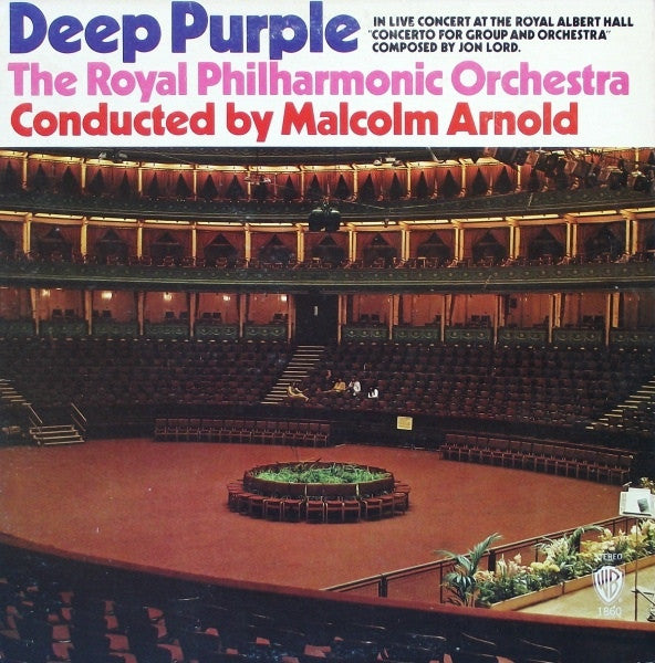 Deep Purple, The Royal Philharmonic Orchestra ‎– Concerto For Group And Orchestra