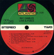 Ray Charles ‎– Love & Peace