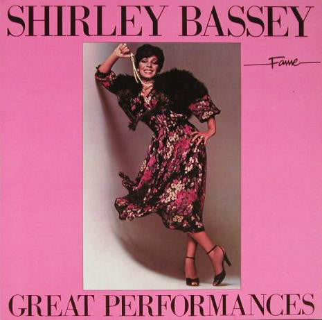 Shirley Bassey ‎– Great Performances