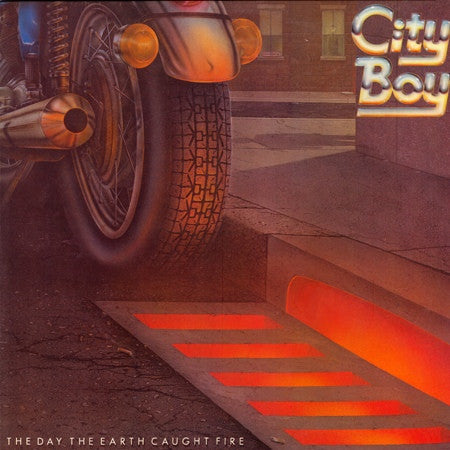 City Boy ‎– The Day The Earth Caught Fire