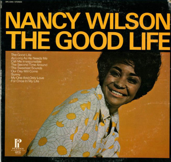 Nancy Wilson ‎– The Good Life