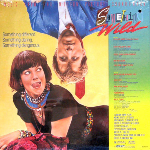 Various ‎– Something Wild - Music From The Motion Picture Soundtrack