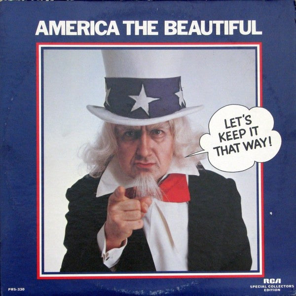 Various ‎– America The Beautiful (Let's Keep It That Way) (2 record set)