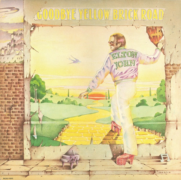 Elton John ‎– Goodbye Yellow Brick Road (2 record set)
