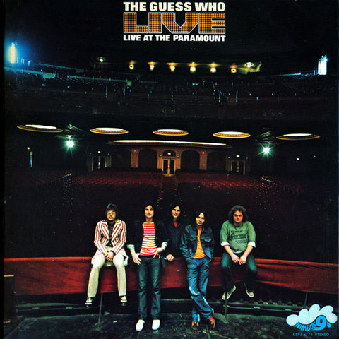 The Guess Who ‎– Live At The Paramount