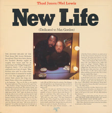Thad Jones / Mel Lewis* ‎– New Life (Dedicated To Max Gordon)