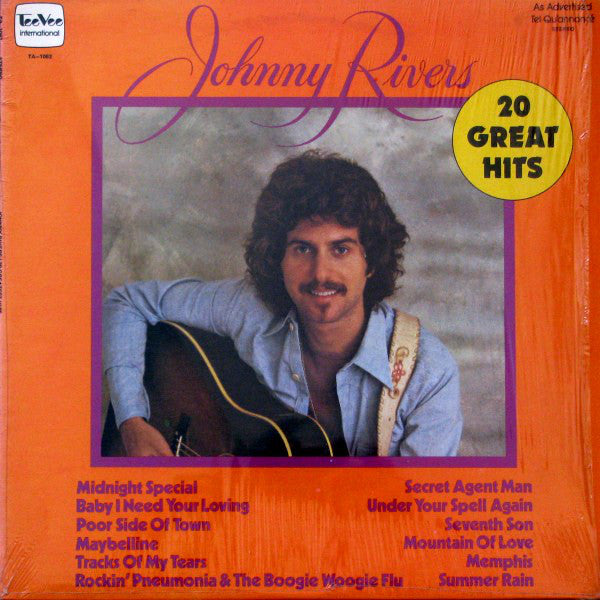 Johnny Rivers ‎– 20 Greatest Hits