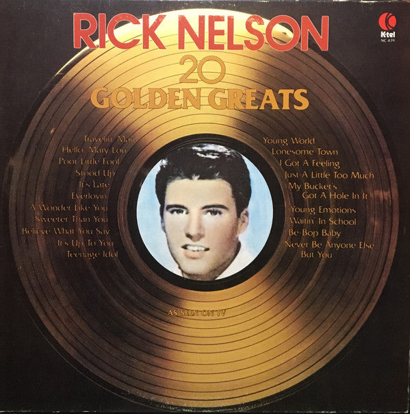 Ricky Nelson – 20 Golden Greats